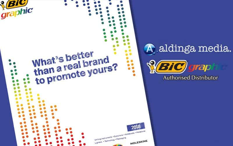 Aldinga Media is now an approved Distributor of BIC Graphic Australia